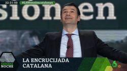 La frase de Marhuenda en 'LaSexta Noche' que provocó esta reacción de Iñaki