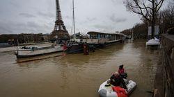 Las impresionantes imágenes de las inundaciones por la crecida del Sena en