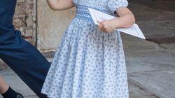 El gesto de hermana mayor de la princesa Carlota en el bautizo de su