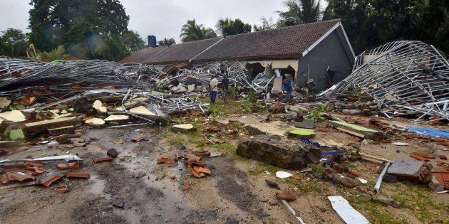 Las fotos del tsunami en