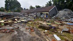 FOTOS: El tsunami en