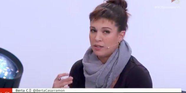 Beatriz Talegón en el programa 'Preguntes Freqüents' de