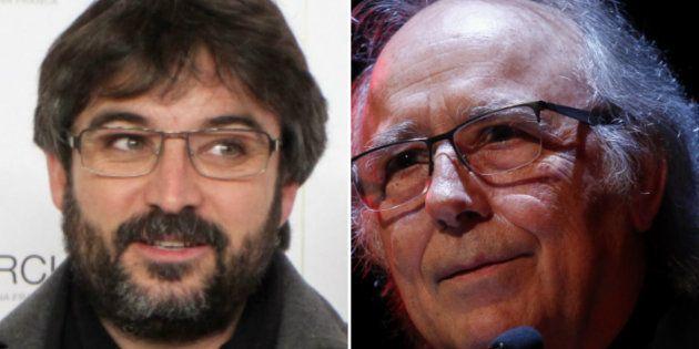 Jordi Évole ('Salvados') y Joan Manuel