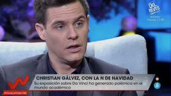 Christian Gálvez se defiende de las acusaciones de los historiadores: