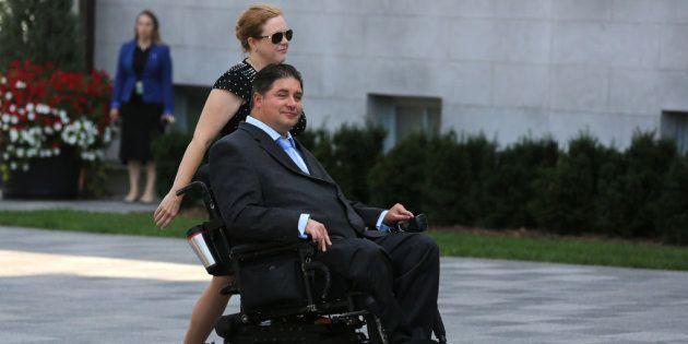 Kent Hehr, exministr de Deporte y Discapacidad de