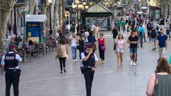 EEUU alerta de riesgo de atentados en Barcelona en