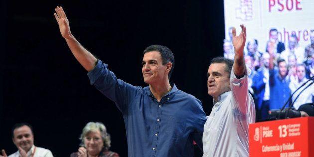 Pedro Sánchez y José Manuel