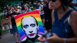 Así han sido las protestas contra Trump y Putin por su reunión en