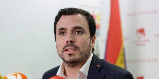El coordinador de Izquierda Unida, Alberto
