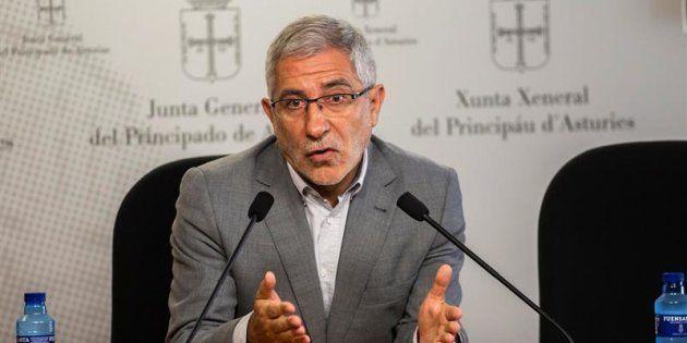 El portavoz parlamentario de IU, Gaspar Llamazares.