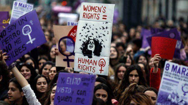 Imagen de archivo de la manifestación del 8 de marzo en