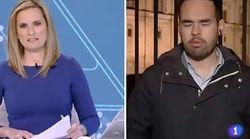 El lapsus de un periodista de RTVE en pleno directo: