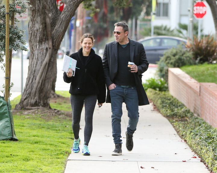 Jennifer Garner and Affleck are seen on Feb. 27, 2019, in Los Angeles.
