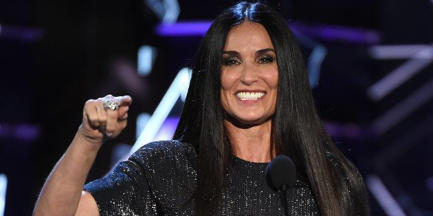 Demi Moore en 'Comedy Central