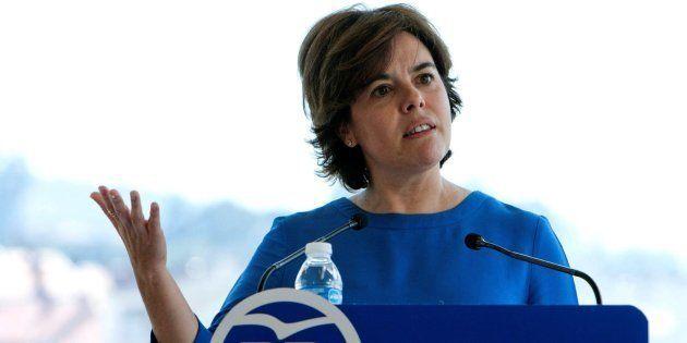 Sáenz de Santamaría, sobre la exhumación de Franco: 'Me gusta trabajar para mi hijo y no para mis