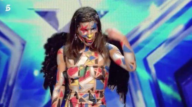 El cabreo de una concursante de 'Got Talent' tras ser rechazada por el