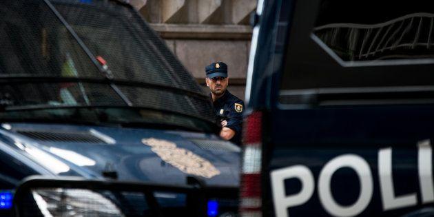Un dispositivo de la Policía Nacional, en una imagen de
