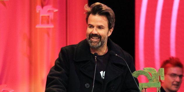 El cantante Pau Donés durante los Premios Ondas, en diciembre de