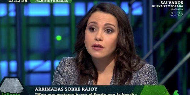 Críticas a Inés Arrimadas por lo que dijo sobre la huelga feminista en 'LaSexta