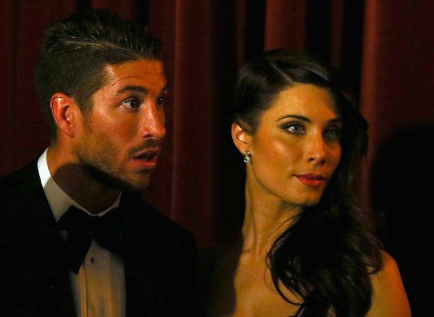 Sergio Ramos y Pilar Rubio, en la gala del Balón de Oro de enero de