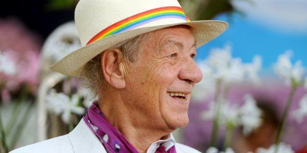 El inspirador mensaje de Ian McKellen por el aniversario de su salida del
