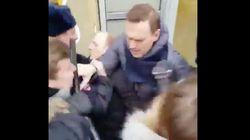 La policía rusa detiene al líder opositor Alexey