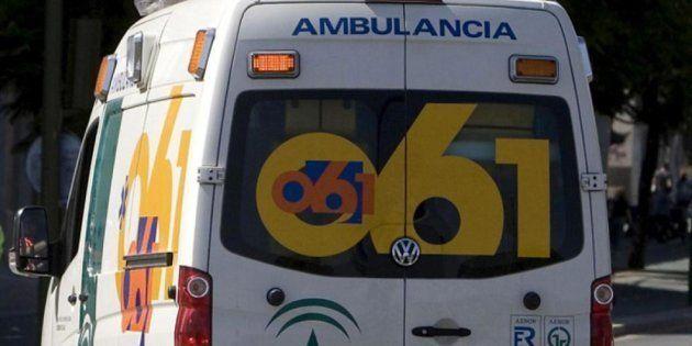 Una ambulancia de Emergencias Andalucía, en una imagen de