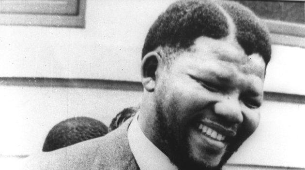 Imagen de archivo de Nelson Mandela en
