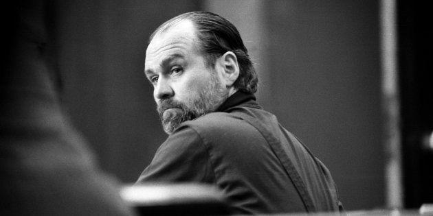 Carl Andre, durante el juicio como acusado de matar a su pareja Ana Mendieta, hace más de 30