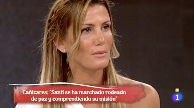 Mayte García, la mujer de Cañizares, habla sobre la muerte de su hijo: