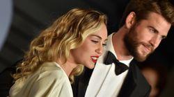 El detalle que te perdiste de las fotos de boda de Miley Cyrus y Liam