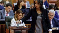 Marta Bosquet (Ciudadanos), nueva presidenta del Parlamento andaluz con los votos de PP, Cs y