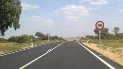 La velocidad en carreteras de un solo carril se reducirá a 90