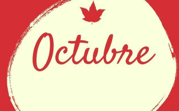 Mes de octubre de