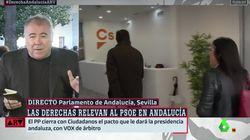 El recado de Ferreras a Ciudadanos en 'Al Rojo Vivo' tras su pacto con PP y