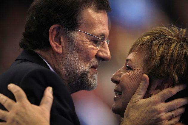 Mariano Rajoy y Celia