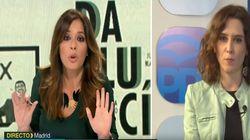 El extraño corte de Mamen Mendizábal (Más Vale Tarde) a una política del PP tras su apasionada defensa de