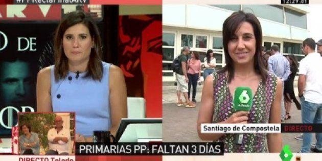 El aplaudido gesto de una periodista en 'Al Rojo vivo' mientras se hablaba de 'La