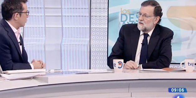 Mariano Rajoy, entrevistado por Sergio Martín en