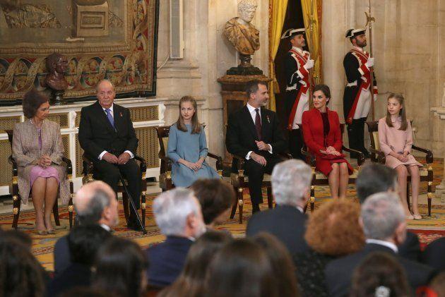 La princesa Leonor recibe el Toisón de Oro: las fotos de la