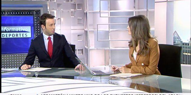 Matías Prats y Leticia Iglesias, presentadores del 'Informativo Matinal' de