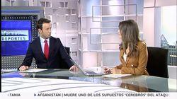 El sorprendente gesto de Matías Prats con Leticia Iglesias en pleno 'Informativo Matinal' de