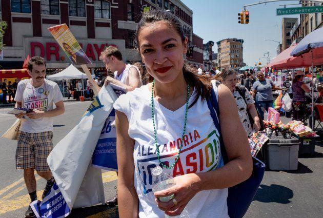 Alexandria Ocasio-Cortez, en una imagen de