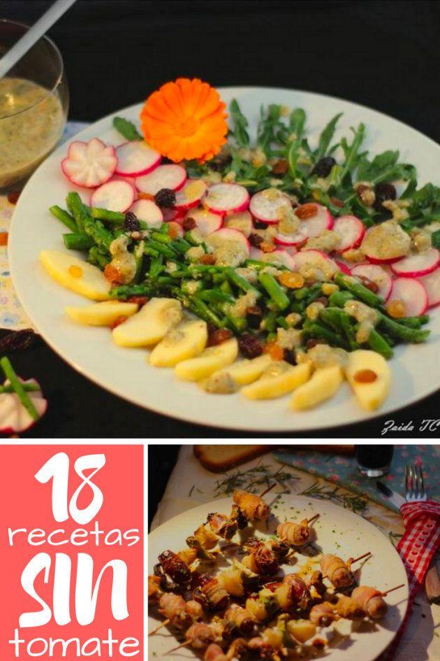 18 deliciosas recetas sin tomate para disfrutar este