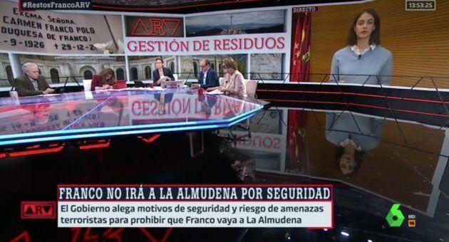 Plató de 'Al Rojo Vivo' en La