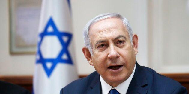 Imagen de archivo del primer ministro israelí, Benjamin