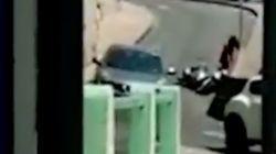 Aída Nízar sufre un accidente de moto en Italia y sube el momento a