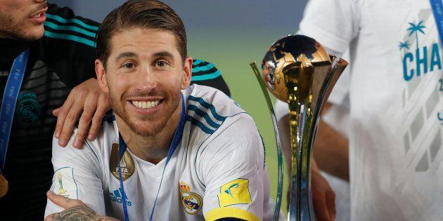 Sergio Ramos comparte su nuevo 'look' y todos le sacan el mismo