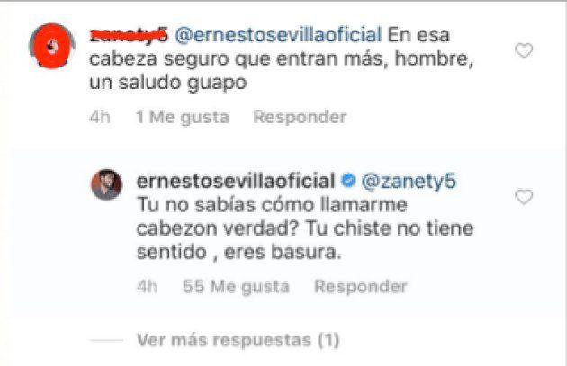 Instagram Ernesto
