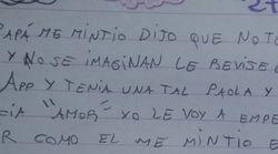 Una hija descubre en WhatsApp que su padre tiene novia... y le escribe esta carta que ya es